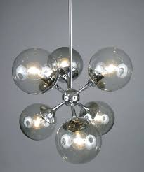 modern glass chandeliers large size of light modern glass chandelier lighting vintage chrome and smoked sputnik