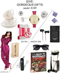 give gorgeous gifts ideas under 100 her him sister firned mom dad brother guy boyfriend