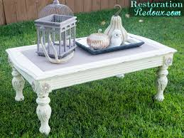 Small Picture Chalky Finish Coffee Table Restoration Redoux