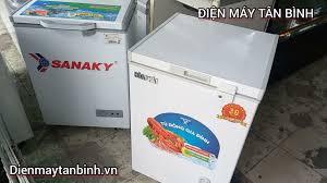 Bán tủ đông cũ 100 lít Sanaky / Hòa Phát. tư vấn mua tủ đông mini gia đình.  inverter tiết kiệm điện - YouTube
