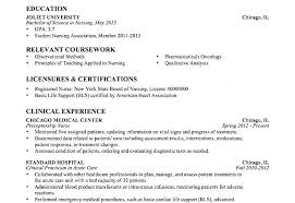Nurse Resume Examples New Entry Level Customer Service Resume Samples Registered Nurse Student