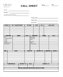 Film Log Sheet Template – Iinan.co