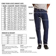 Details About Levis Mens 501 Original Shrink To Fit Button Fly Jeans