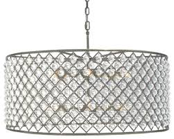 lightupmyhome cassiel crystal chandelier antique brass intended for drum crystal chandelier view