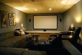 theater room sofas media room furniture theater. Media Room Sofa Basement With Sectional And Giraffe Texture Carpeting Modern Home Theater . Sofas Furniture