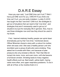 dare essay examples lake murray elementary dare graduation and lake murray elementary d a r e graduation and essay winner tyler shackelford essay