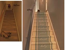 Basement Stair Covering Ideas  Ksknus - Painted basement stairs
