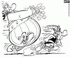 Kleurplaten Asterix En Obelix Kleurplaat