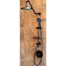 bronze shower head pulse orb oil rubbed bronze with multi function handheld and wire bronze shower head extension arm