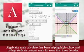 algebrator math calculator that shows
