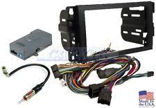 impala wire harness double din dash radio wire harness antenna adapter kit onstar y91 bose swc