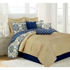 this review is from patina blue queen microfiber 10 piece comforter set