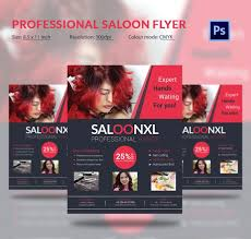 Hair Salon Flyer Templates Hair Salon Flyer Templates Tirevi Fontanacountryinn Com