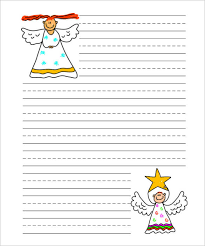 christmas paper templates word pdf jpeg format christmas angel writing paper handwriting template