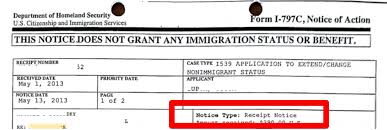 What Is Form I 797 Notice Of Action