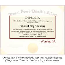 Diploma Wording High School Diploma Templates For Free Printable With Design Wording