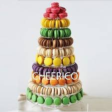 French Macaron Display Stand Magnificent 32 Tier Macaron Display Stand For French Macarons By Cheerico Etsy