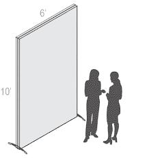 Modular SEG Fabric Stand - Large Free-Standing Frame
