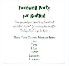 Invitation Cards For Farewell Party Farewell Party Invitation Plus College Farewell Dinner Invitation