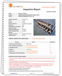 Report With Pictures Quality Control Sample Report In China Asia Qcinasia Com
