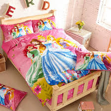image of disney princess bedding set girls