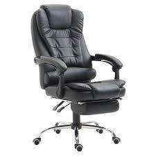 Fauteuil de bureau manager grand confort repose-pied intégré dossier ...