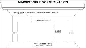 Rough Opening For Garage Door Gracehomedesign Co