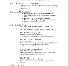 Resume Objective For Retail Beauteous Sample Resumes For Retail Retail Resume Objective Retail Resume