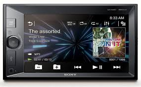 sony xav vbt double din nfc bluetooth in dash digital media a v sony xav w630bt