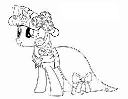 Tuyển tập các mẫu tranh tô màu ngựa pony đẹp | Trang tô màu, My little pony,  Sách tô màu