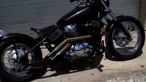 bare bone rides custom 2001 honda 750 shadow hard tail bobber