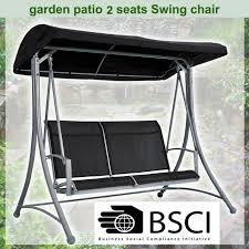 cloud wave indoor outdoor garden patio swing 2 seat