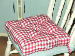 rooster kitchen chair cushions kitchen chair pads seat cushions pad red gingham braided chair pads for