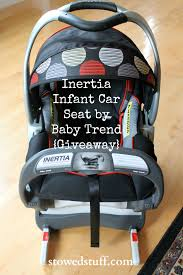 the inertia infant car seat by baby trend giveaway