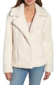 Caslon Fleece Jacket Regular Petite Hautelook