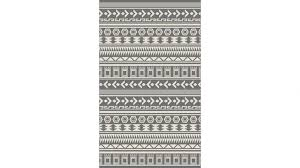 alfresco aztec rug 160 x 230 night silver