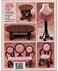 plastic dollhouse furniture sets. victorian fashion doll parlor set plastic by grammysyarngarden dollhouse furniture sets