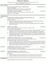 It Resume Objective Layout Of A Good Resume It Resume Objective