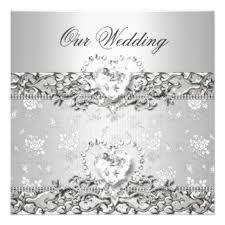 diamond wedding gifts on zazzle Diamond Wedding Cards And Gifts elegant wedding silver white diamond heart card Wedding Anniversary Gifts by Year