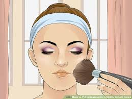 image led apply makeup for a beauty pageant step 21