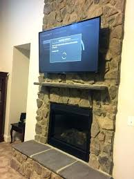 seemly how to mount tv on brick fireplace mounting above fireplace how to mount television over