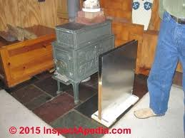 fireplace heat shield wonderful fire clearances for pellet stoves coal stoves heat for fireplace heat shield