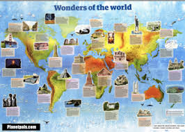 wonders of the world natural wonders man made wonders ancient  wonders of the world chart