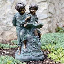 children garden statues. Garden Ornaments Provide An Aesthetic Appearance In The Children Statues