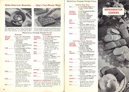 aunt jenny s old fashioned cookies recipe book page 12 13