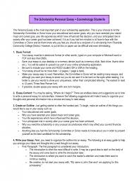 scholarship essay example career goals okl mindsprout co scholarship