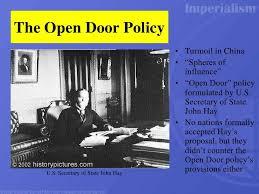 open door policy john hay. With The Outbreak Of Boxer Rebellion, U.S. Secretary State John Hay,  Who Open Door Policy John Hay