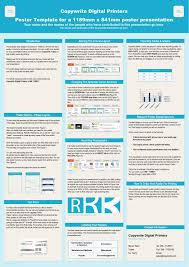 Informational Poster Sample Layout Ppt Copywrite Digital Printers Poster Template For A