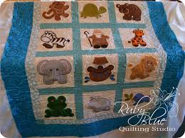 Ruby Blue Quilting Studio: Machine Quilting: Noah's Ark Embroidery & ... and I completely forgot to post the pictures about it. Sorry! In my  defense this was in the before Christmas / Quilt Market / vacation time of  year. Adamdwight.com