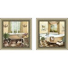 matching wall art set french bath ii wall art set of 2 matching set wall art on matching wall art prints with matching wall art set french bath ii wall art set of 2 matching set